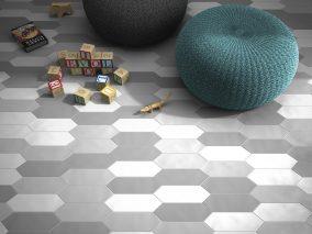Vienspalvės grindų plytelės