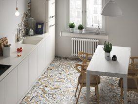 Virtuvės grindų plytelės