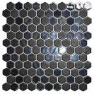 Hex Stoneglass Opalo Black 30.1x29 cm