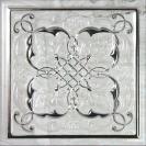 Petra silver B decor  15 x 15 cm