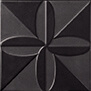 Triplex Fronteira Black 20x20 cm