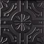 Triplex Real Black 20x20 cm
