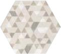 Urban Hexagon Forest Natural 29.2x25.4 cm