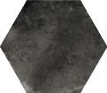 Urban Hexagon Melange Dark 29.2x25.4 cm