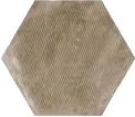 Urban Hexagon Melange Nut 29.2x25.4 cm