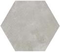 Urban Hexagon Melange Silver 29.2x25.4 cm