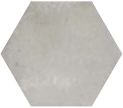 Urban Hexagon Silver 29.2x25.4 cm