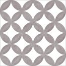 District Circles Grey 20x20 cm