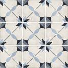 Art Nouveau Arcade Blue 20x20 cm