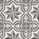 Art Nouveau Cinema Grey 20x20 cm
