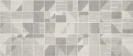 Fusion Mosaico Cemento 25x60 cm