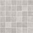 Mosaico 5x5 su rete Zinco 30x30 cm