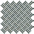 Mosaico Basket su rete Lavagna 30x30 cm