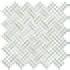 Mosaico Basket su rete Zinco 30x30 cm