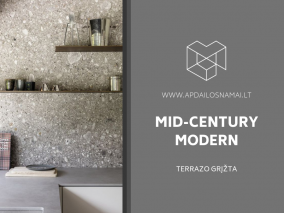 Mid-Century Modern: Terrazo grįžta