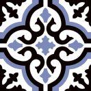 Consenza Azul 22,5x22,5 cm