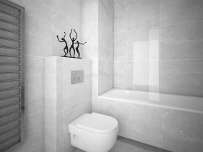 Minimalistinė vonia #183