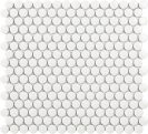 Tech Penny White Gloss 29,4 x 32 cm