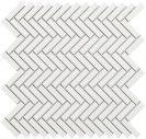 Tech Chevron White Gloss 27,7 x 28,3 cm