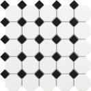 Tech Octogon White Matt 30,5 x 30,5 cm