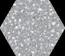 Hex 25Venice Silver RD3, 22x25cm