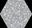 Venice Silver Hex25,  22x25cm