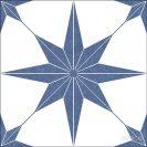 Stella Azul 25x25 cm