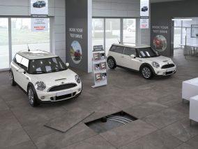Garažo grindų plytelės