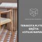 Terakota plytelės grįžta: 4 stiliai namams