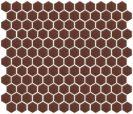 Minimal Hexagon 1HE COPPER 30X30 CM