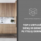 TOP 5 virtuvės sienų ir grindų plytelių deriniai