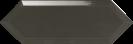 Cupidon Dark Grey Brillo Bisel 10x30 cm