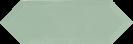 Cupidon Light Green Brillo Bisel 10x30 cm