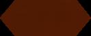 Cupidon Marron Brillo Liso 10x30 cm