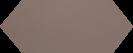 Cupidon Moka Brillo Liso 10x30 cm