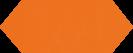 Cupidon Naranja Brillo Liso 10x30 cm
