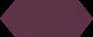 Cupidon Plum Brillo Liso 10x30 cm