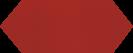 Cupidon Rojo Brillo Liso 10x30 cm