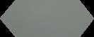 Cupidon Sage Brillo Liso 10x30 cm
