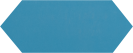 Cupidon Teal Brillo Liso 10x30 cm