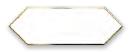 Cupidon Gold White Line 10x30 cm